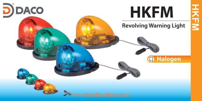 HKFM-102-R Đèn mai rùa giọt nước xe ưu tiên Patlite 180x122mm Bóng Halogen