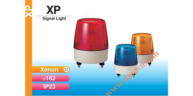 Đèn báo hiệu Patlite Φ162, bóng Xenon, nhấp nháy, chống rung, IP23, XP
