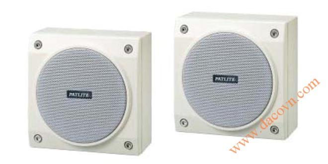 Loa báo hiệu Patlite 3W, 16 Ω, hình vuông, SPB-3D