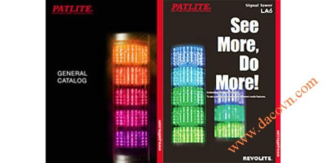 Catalog Đèn Loa Còi Báo Hiệu Tín Hiệu Cảnh Báo Patlite Nhật Bản Patlite Catalogue General_2016