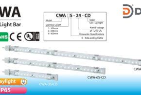 Đèn LED chiếu sáng dạng thanh, Chống nước Patlite CWA, IP65, 24VDC