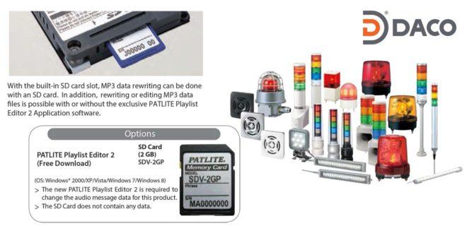 Phần mềm PlaylistEditor2 copy nhạc cho Đèn Loa báo hiệu MP3 Patlite