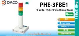 Đèn tháp kết nối điều khiển qua cổng RS232 Patlite PHE từ máy tính PC