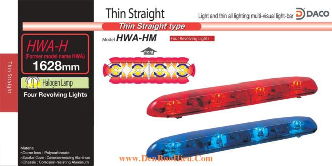 Den Light Bar Xe Uu Tien Patlite  HW-HWS-HWA-HWB-HWD