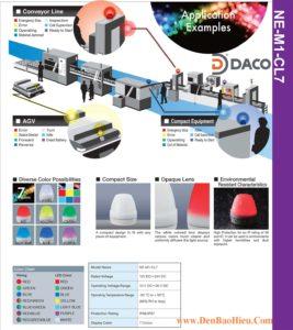 Den LED bao hieu 7 mau NE-M1-CL7 Color