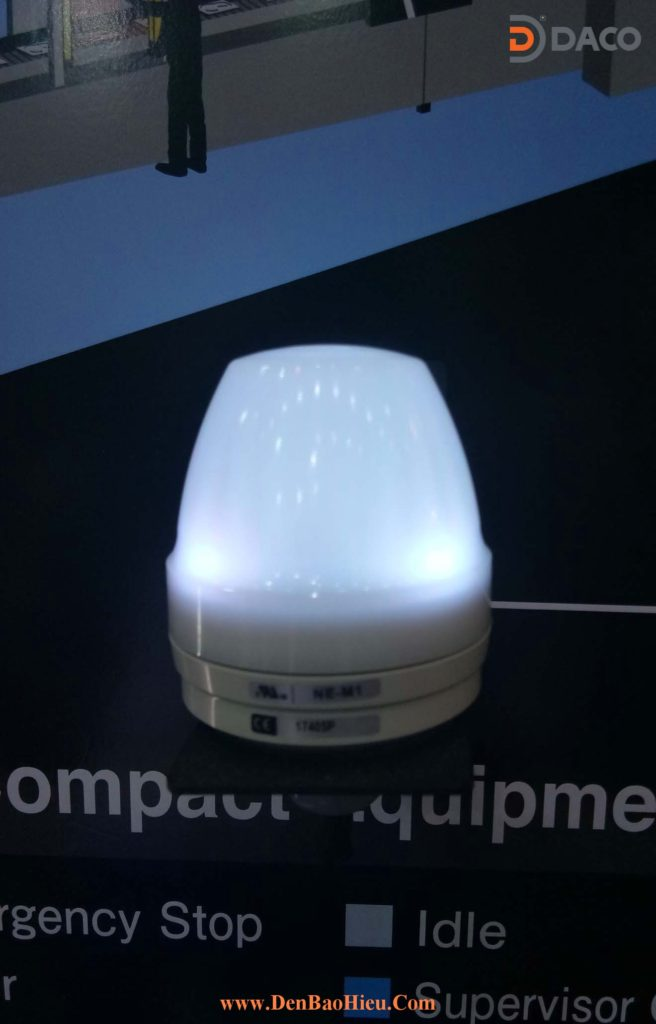 Den bao hieu 7 mau LED NE-M1 NE-CL7