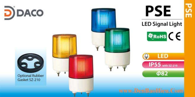 PSE-M2-R Đèn nhấp nháy báo hiệu Patlite Φ82 Bóng LED IP23/IP55