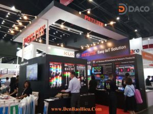 Patlite ThaiLand Exhibition 2017