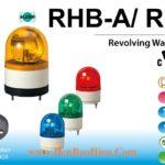 RHB-RKB-A den bao quay xoay co coi Patlite phi 100