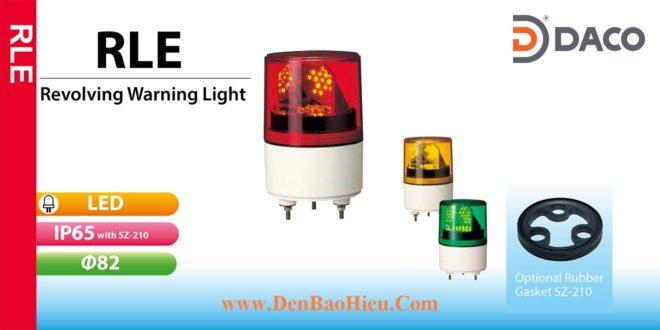 RLE-110-R+SZ-210 Đèn báo quay Patlite Φ82 Bóng LED IP55, IP65