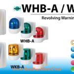 WHB-A_WKB-A Den bao quay gan tuong Patlite phi 100