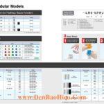 LR4-LR5-LR6-LR7-Tower Module Den thap bao hieu Patlite Nhat