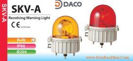 SKV-120-R Đèn báo chống ăn mòn Patlite Φ204 Bóng Sợi đốt IP66