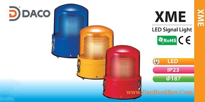 XME-M2-R Đèn báo hiệu Patlite Φ187 Bóng LED IP23