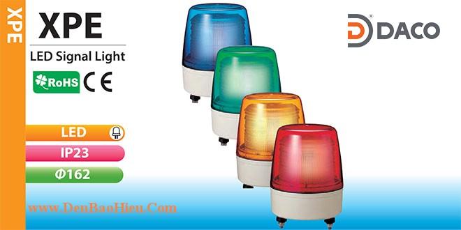 XPE-24-R Đèn báo hiệu Patlite Φ162 Bóng LED IP23